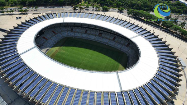 Get to know the Brazilian soccer stadiums that use solar energy