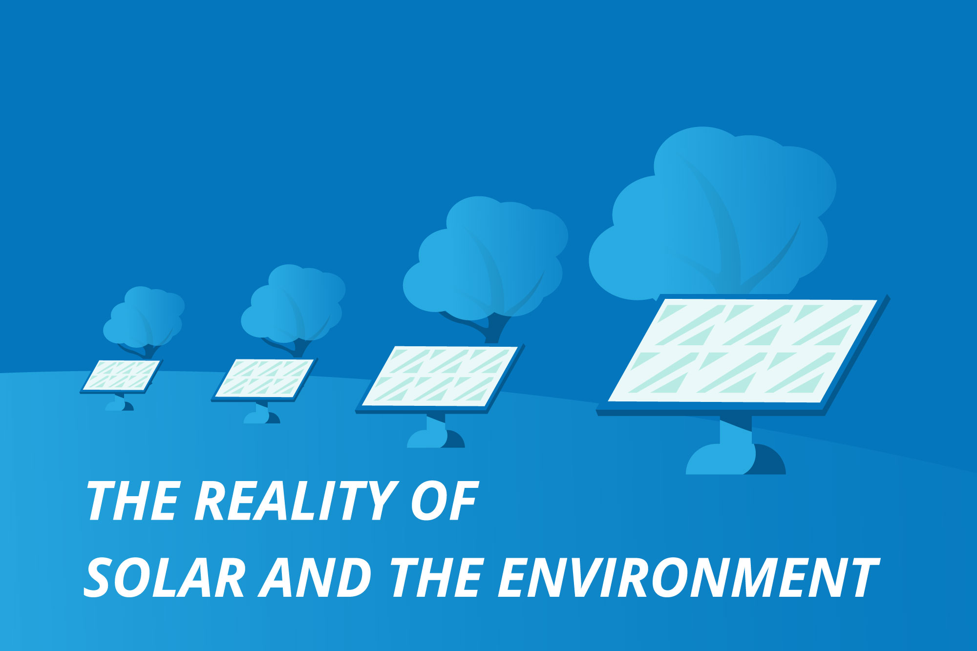 SOLAR REALITY AND THE ENVIRONMENT