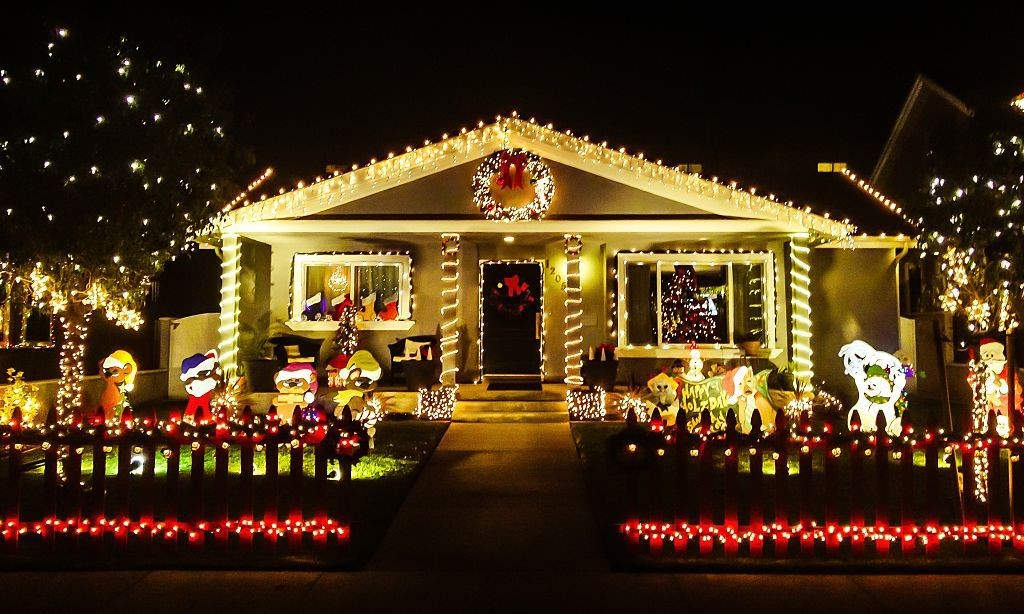 Solar Christmas lights that look great & save money