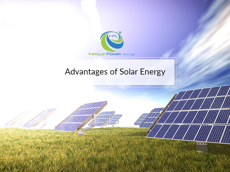 Economic advantages of solar energy