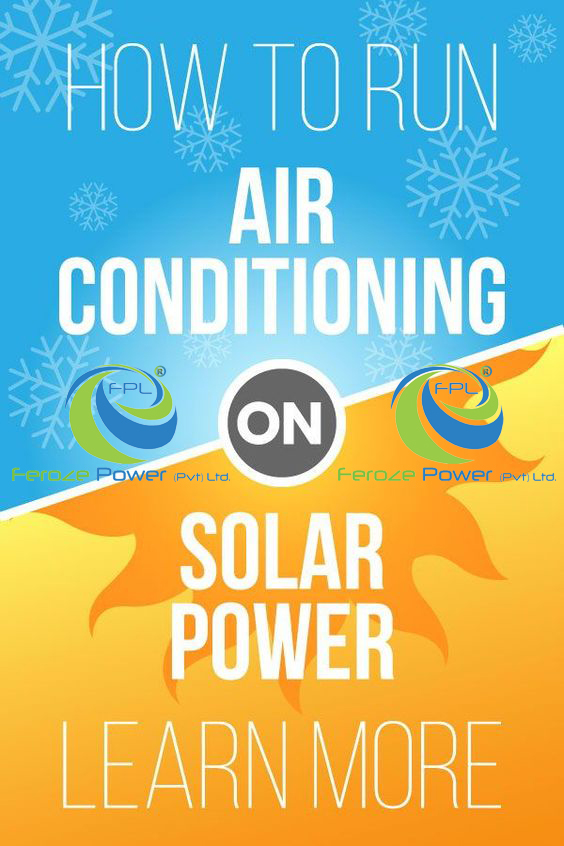 How to Run Air Conditioning On Solar Power